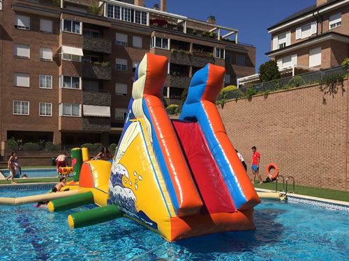 Piscina hinchable madrid for Piscinas desmontables hinchables